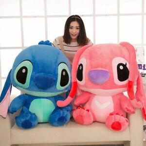 2020 New Giant Cute Disney Blue Lilo Stitch Stuffed Animal Plush Toy Doll Gift