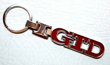 VW GTD Porte-clés Red Badge Metal Keychain Golf MK1 MK2 MK3 MK4 MK5 MK6 MK7