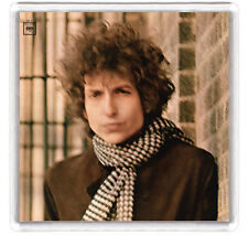 BOB DYLAN - BLONDE ON BLONDE LP COVER FRIDGE MAGNET IMAN NEVERA