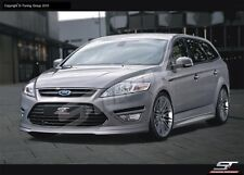 FORD MONDEO MK4/ Front&Rear bumper spoiler+Side skirts