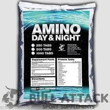 1000 Tablets x BCAA + GLUTAMINE Mega Amino Acids Lean PROTEIN BODYBUILDING PACK