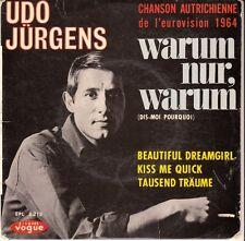 45 T EP UDO JURGENS  *WARUM NUR WARUM* (EUROVISION 1964)