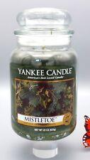 Yankee Candle Mistletoe House Warmer Series 22 oz Jar 1003320 Unused new wick VG