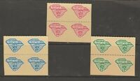 WW MIX Cinderella collection revenue fiscal stamp 5-27- USA SOUTH CAROLINA