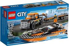 Lego City 60085 4x4 With Powerboat and Truck