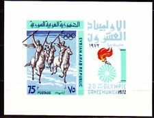 Syrie Syria 1972 ** bl.57 JEUX OLYMPIQUES OLYMPIC GAMES Cavaliers Chevaux Horses