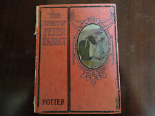THE STORY of PETER RABBITby Potter, 1908 REILLY & BRITTON FIRSTJ R NEILL  ART