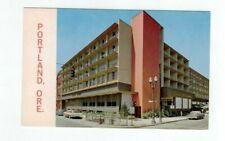 OR Portland Oregon vintage motel post card Riverside West Motor Hotel