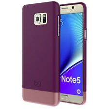 Samsung Galaxy NOTE 5 Case, (SlimShield Series) Thin Hybrid Cover (Purple)