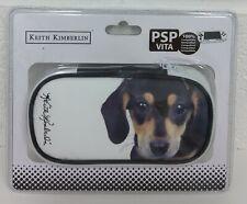 KEITH KIMBERLIN PSP VITA CASE - DOG DESIGN- NEW / SEALED
