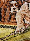 Vintage P&C Dogs Playing Pool Velvet Tapestry 56x36 Inch college art  dorm READ