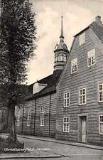 Christiansfeld Denmark Kirken Church Antique Postcard J67903