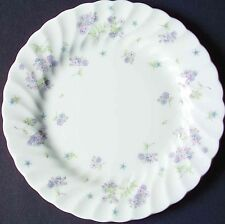 "Wedgwood April Flowers Bread & Butter Plates 6-3/4"" Bone China ~ Set of 4"