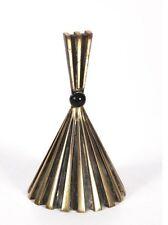 Ancienne rare cloche de table en bronze XXe, sonnette bell ring