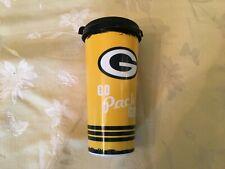 Green Bay Packers G Logo GO Pack GO Travel Coffee Soda Mug