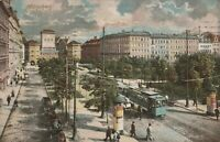 Antike Ansichtskarte München 1908 Isartorplatz beschrieben und frankiert