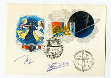 Russia Cover FDC w/ #5062 Stamp signed by both astronauts