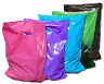 3 Sizes, 30 Pack Plastic Merchandise Bags, Assorted  Colors Gift Combo w Handles