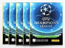 Panini Ligue des champions 2007/2008 - 5 x Leeralbum