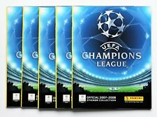 Panini Champions League 2007 / 2008 - 5 x Leeralbum