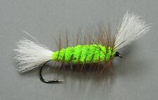 Chartreuse Salmon Bomber - Size 4 - Atlantic Salmon and Trout Fly