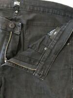 Paige 36 x 32 Croft Skinny Black Fade Flex Denim Jeans