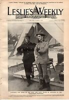 1898 Leslies Illustrated October 13 - Roosevelt's Rough Riders; Life Insurance