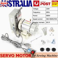 220V 600W Energy Saving Brushless Mute Servo Motor For Industrial Sewing Machine