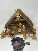 1983 -1992 FONTANINI NATIVITY SET Manger Crèche DEPOSE ITALY
