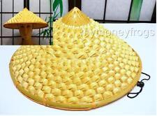 Chinese Oriental Vietnamese Straw Cone Garden Fishing Sun Bamboo Adult Rice Hat