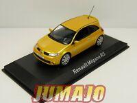 RE67G VOITURE 1/43 NOREV : RENAULT Mégane RS 204 Yellow sirius