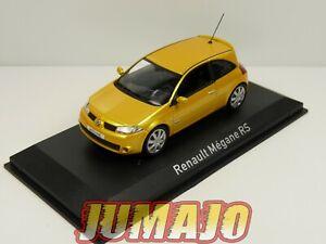 NOR10 VOITURE 1/43 NOREV : RENAULT Mégane RS 204 Yellow sirius