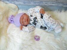 ninisingen Reborn Baby Reallife Suleika NEU Puppe Babypuppe Rebornbaby ca.45 cm