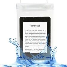 Waterproof White Case Cover for Amazon Fire 7, Touch, Kindle Paperwhite