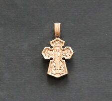 GOLD YELLOW 14K CROSS 8.8 GRAMS (Lord. Icon of the Mother of God)