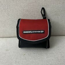 Nintendo GameBoy Advance SP Red And Black  Carrying/Travel Case