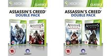Assassins Creed 1 & 2 & FRATELLANZA & REVELATIONS XBOX 360 Pal Formato