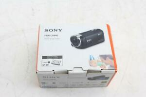 Sony HDR - CX440 Handycam  Camcorder - Black Brand New Free Shipping!