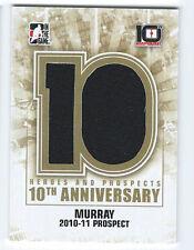 2013-14 Heroes & Prospects 10th Anniversary Jersey  #AP-98 - RYAN MURRAY /100