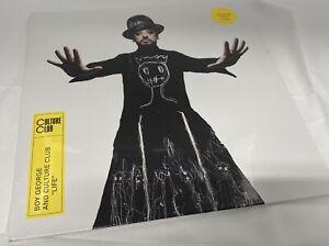Boy George Culture Club Life Coloured Vinyl Album Record LPNEW