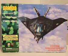Best-Lock Toys 350 Piece Construction Set F-117 Nighthawk Stealth Bomber