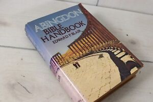 Vintage 1975 Abingdon Bible Handbook Biblical Religious Study Book Guide