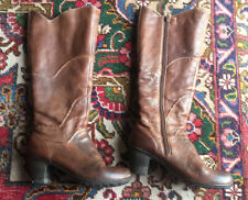 Ladies Marc - Boots Brown Leather Size 4 37