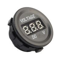 Car Digital LCD Display Cigarette Lighter Voltmeter Voltage Meter Gauge UK