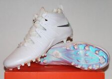 Nike Huarache 4 Lax Le Lacrosse Cleats Mens 9.5 16 White Multi 624978-199