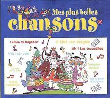 MES PLUS BELLES CHANSONS ENFANTINES VOL2 - AU CLAIR DE LA LUNE - CD DIGIPACK 15T