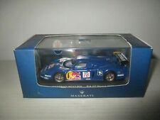 Maserati mc12 #16 fia gt monza 2005 peter buncombe ixo gtm043 1/43 red bull
