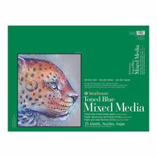 Strathmore Toned Mixed Media Pad 18x24 Blue