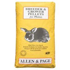 Allen and Page Rabbit Breeder Grower Pellets 20 Kg