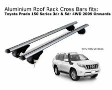 Roof Rack Cross Bars fits Toyota Landcruiser Prado 150 with roof rails 2009+